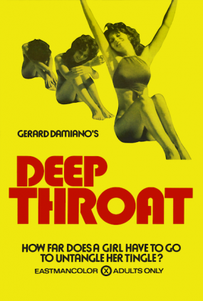 Deep Throat Film Plakat